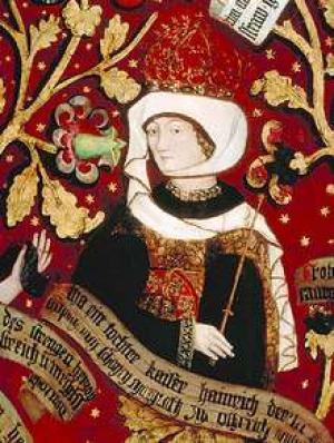 Ida von Österreich, Teilnehmerin am Kreuzzug von 1101.